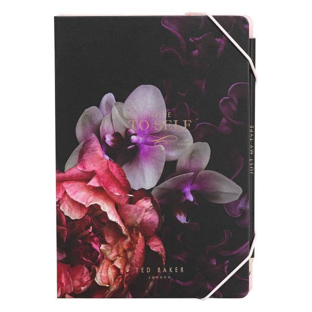 Ted Baker Ted Baker Splendour A5 Notebook & Sticky Notes