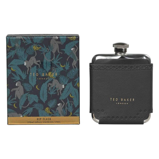 Ted Baker Ted Baker Brogue Monkian Hip Flask