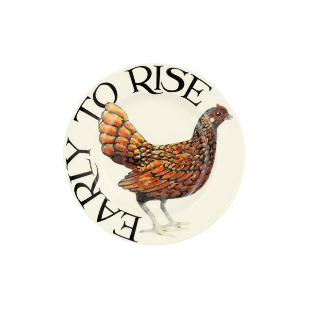 "Emma Bridgewater Emma Bridgewater Rise & Shine Early to Rise 6 1/2"" Plate"