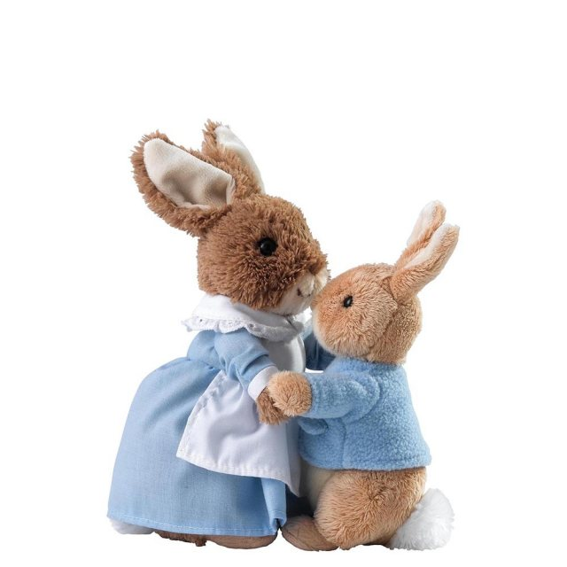 Peter Rabbit Mrs Rabbit & Peter Soft Toy