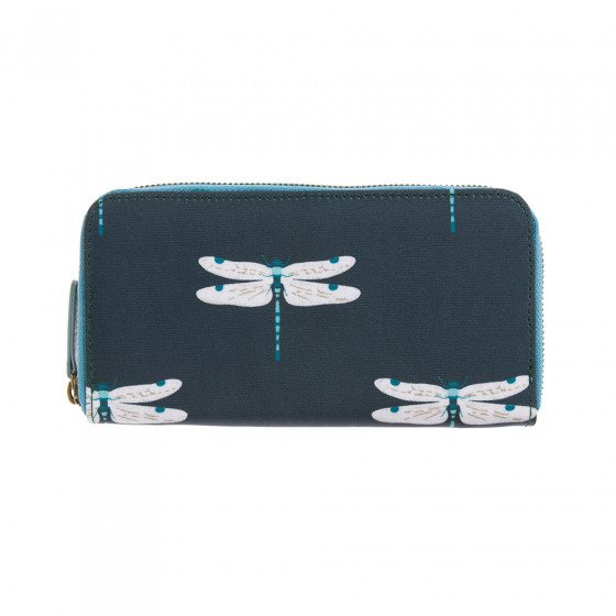 Sophie Allport Sophie Allport Dragonfly Oilcloth Zipped Wallet Purse