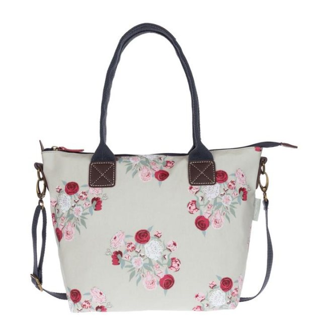 Sophie Allport Sophie Allport Peony Mini Oilcloth Oundle Bag