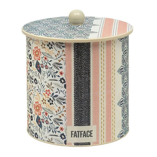 Fat Face Fat Face Biscuit Barrel Tin