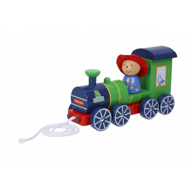 Paddington Bear Paddington Bear Steam Train Wooden Pull Along