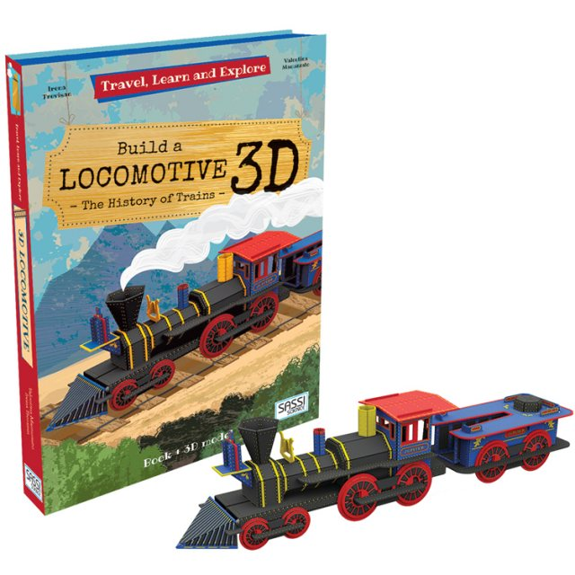 House Of Marbles Build A Locomotive 3D