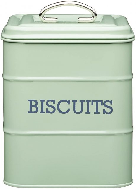 Vintage Nostalgia English Sage Biscuit Tin